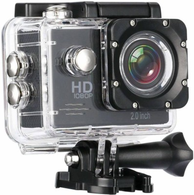 Yumato 1080p 12MP 140 Degree Wide Angle Under Water Waterproof Outdoor Camera Sports and Action Camera