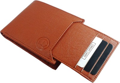 TnW Men Casual Tan Artificial Leather Wallet