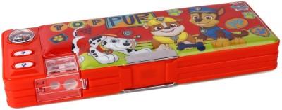 Paw Patrol Series Paw Patrol Top Pups Print Art Plastic Pencil Box