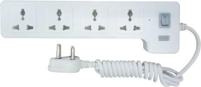 Syska 4 Way Power Strip 4 Socket Surge Protector