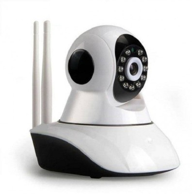 Achievo Dual Antenna WiFi with 360 Degree Rotation IP Smart Camera,720P,Night Vision with External SD Card Slot Home Security Camera