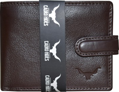 CADROHIDES Men Casual Brown Genuine Leather Wallet