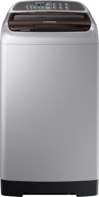 Samsung 6.5 kg ActivWash+ Fully Automatic Top Load Washing Machine Grey