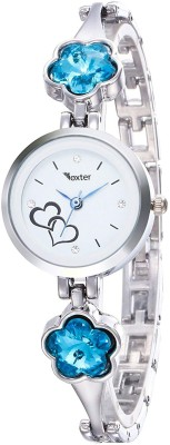 Foxter New Arrival Stylish Attractive Ethnic Blue Bracelet Look Analog Watch  - For Women