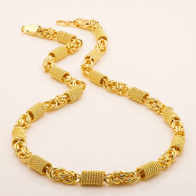 Fashion Frill Gold-plated Plated Metal Chain Set