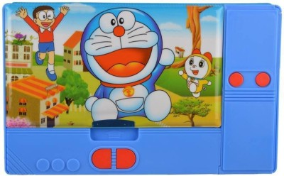 Easy Way A-1 JUMBO-04 BIG SIZE Multipurpose Magnetic Pencil Box (Doraemon), JUMBO MUTLIPURPOSE PENCIL BOX, MAGNETIC DUAL SIDE SPACIOUS PENCIL BOX Art Plastic Pencil Box Art Plastic Pencil Box