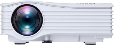 Zeom ™UC36 Wifi Brand New Wi-Fi Ready Mini LED Full Hd Full Entertainment Led Projector (White) Portable Projector