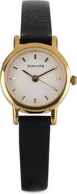 Sonata NF8976YL02J Analog Watch  - For Women