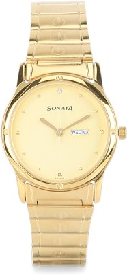Sonata NC7023YM09 Classic Analog Watch  - For Men