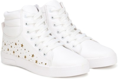 Denill Denill Ankle Length Sneakers High Tops For Women