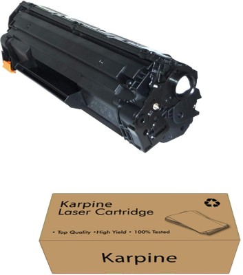 Karpine 88a Toner Cartridge Replacement for HP 88a Compatible with HP M1136,HP M1213nf,HP M1216nfh,HP M1218nfs,HP P1007,HP P1008,HP M202d,HP M202dw,HP M126nw,HP M128fn,HP M128fw,HP M226dn Single Color Ink Toner