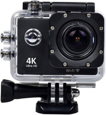 Hypex 4K 16 MP Ultra HD Wifi Wireless Sports 30 Mitre Water Resistant Outdoor Camera with Micro SD Card Support Sports and Action Camera