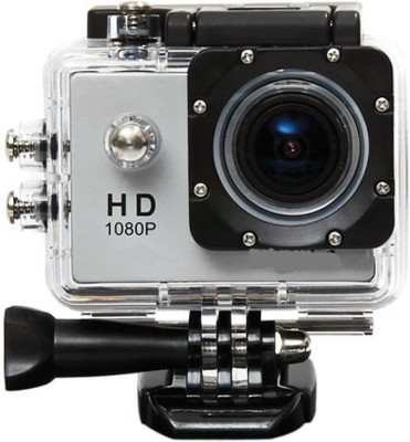 Aerizo Waterproof 1080p Full HD 12 MP Wide Angle Under Water Shooting Camera with Micro SD Card Support Sports and Action Camera