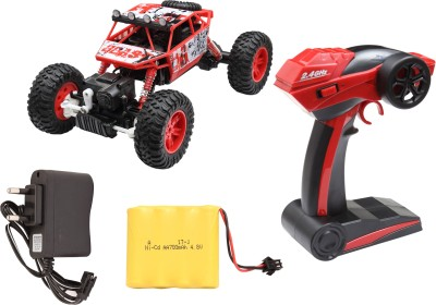 Miss & Chief Rock Crawler All-wheel-drive R/C Car with light - included battery and charger