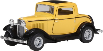 Miss & Chief Ford 1932 Window coupe, Yellow