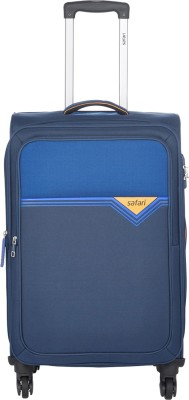 Safari TRIGON 75 4W BLUE Expandable  Check-in Luggage - 30 inch
