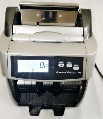 swaggers LATESTKORESH 440 CURRENCY COUNTING MACHINE WITH FAKE NOT DETECTOR Note Counting Machine