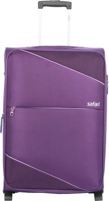 Safari Tilt 2W 55 Purple Expandable  Cabin Luggage - 22 inch