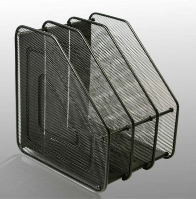 SUKHAD 3 Compartments Metal File Rack