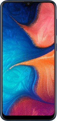 Samsung Galaxy A20 (Deep Blue, 32 GB)