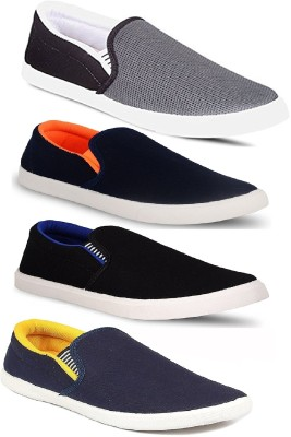Genial Combo Pack 4Shoes Loafers For Men