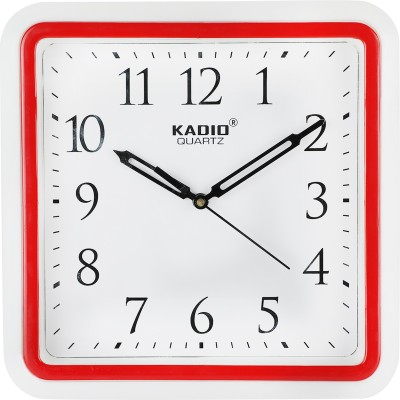 Kadio Analog 25.4 cm X 25.4 cm Wall Clock