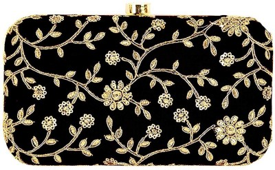 Modest City Casual, Party, Formal, Sports Black, Gold  Clutch