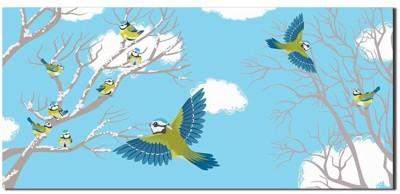 Ultra Flying Birds Design Shagun Gifting Cash Cover Money (3D Envelope Pack of 10) Envelopes