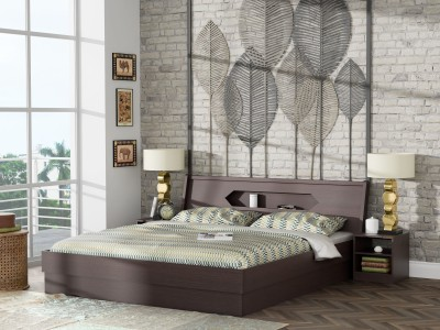 Stylespa Cove Engineered Wood King Box Bed