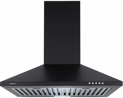 Elica Strip BF 60 Nero Wall Mounted Chimney