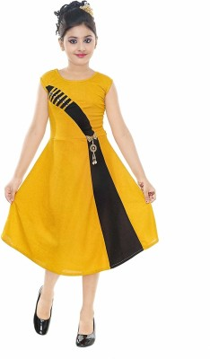 FTC FASHIONS Girls Maxi/Full Length Festive/Wedding Dress