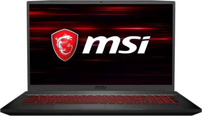MSI Core i7 9th Gen - (8 GB/1 TB HDD/128 GB SSD/Windows 10 Home/4 GB Graphics) GF75 Thin 9SC-095IN Gaming Laptop