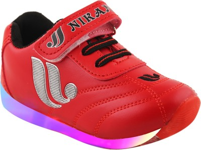 LNG Lifestyle Boys & Girls Velcro Dancing Shoes