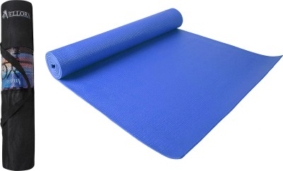 Vellora Extra soft Quality and Anti-Slip Blue 4 mm Yoga Mat