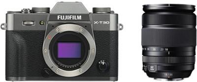 fuji X-T30 with 18-135 Kit Lens Silver Mirrorless Camera KIT