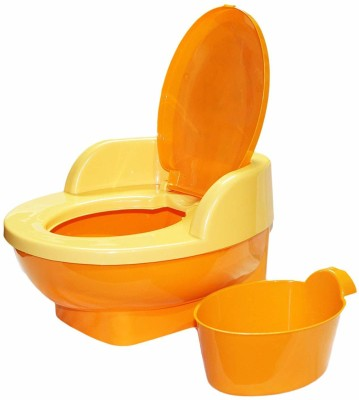 Nabhya Baby Toilet Training Potty Seat with Upper Closing Lid and Removable Bowl Potty Seat Potty Seat
