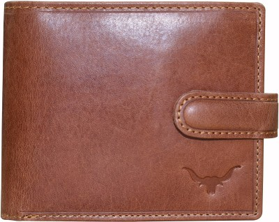 CADROHIDES Men Tan Genuine Leather Wallet