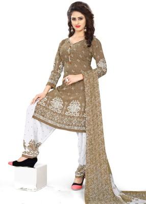 Saara Poly Crepe Paisley, Printed Salwar Suit Material