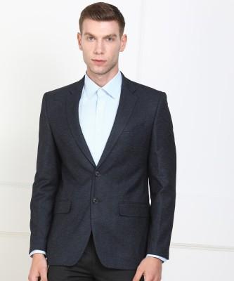 Raymond Self Design Single Breasted Formal Men Blazer