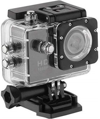 Roboster 1080p Full HD 140 Degree Wide Angle 12 MP Waterproof Action Camera with 64 GB SD Card Support Sports and Action Camera