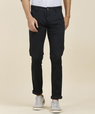 Arrow Sport Regular Fit Men Blue Trousers