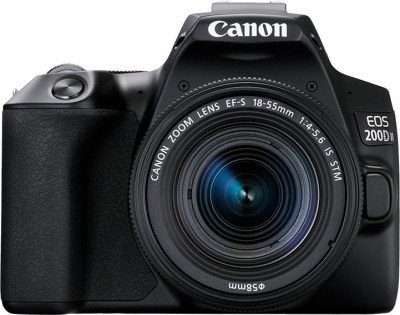 Canon EOS 200D II DSLR Camera Body with Single Lens 18 - 55 mm f/4 - 5.6 IS STM