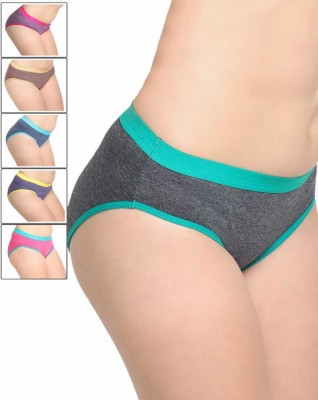 Leading Lady Women Hipster Multicolor Panty