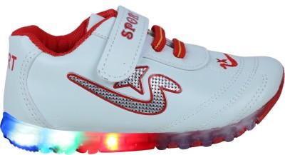 LNG Lifestyle Boys & Girls Velcro Running Shoes