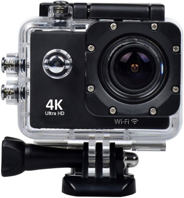 Style Maniac 4k Ultra HD 4k Ultra HD waterproof sports/Action camera Sports and Action Camera (Black 16 MP) Sports and Action Camera