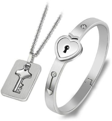 Impression Stainless Steel Jewel Set
