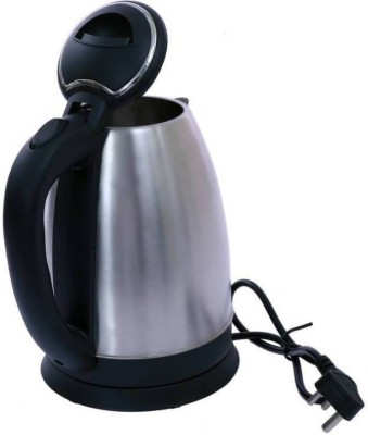 Mezire Cordless Hot Water Electric Kettle(1.8 L, Silver) Electric Kettle