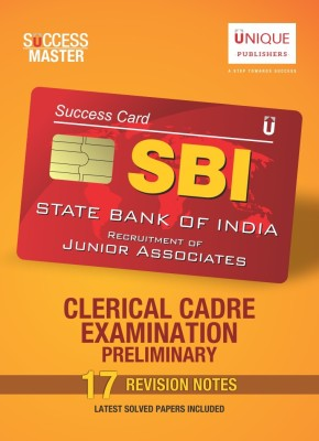 SBI Junior Associates Clerical Cadre Examination Revision Notes