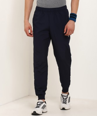 ADIDAS Solid Men Blue Track Pants