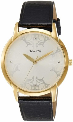 Sonata 77031YL01 Analog Watch  - For Men